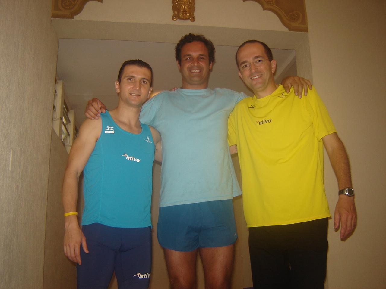 Flavio Jose , Luiz Albertini e Oswaldo Retz