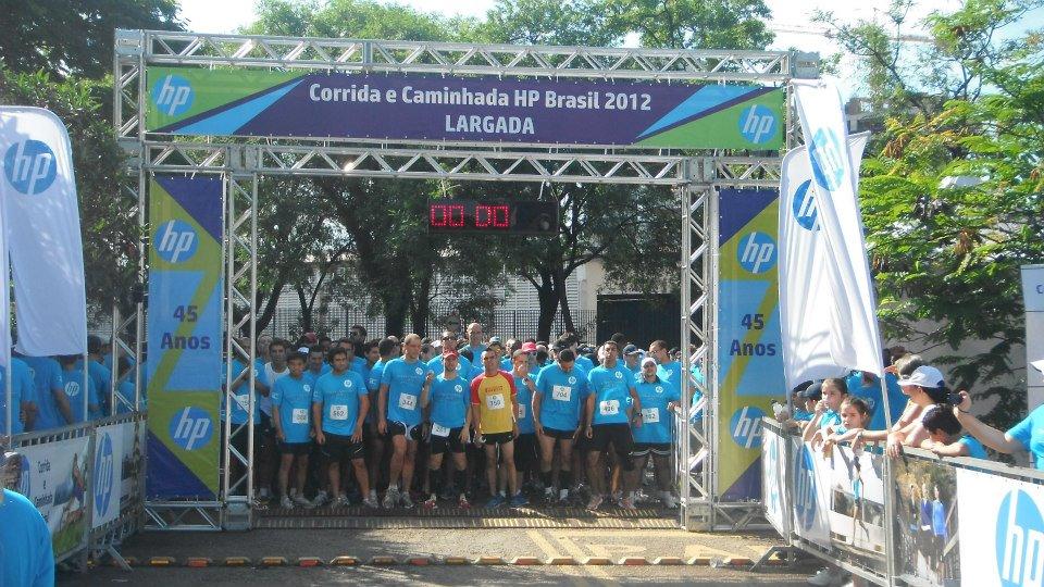 Largada Corrida HP 2012