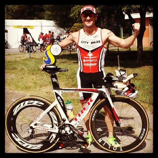 Flavio Jose - 4. Lugar na 2a. Etapa do Troféu Brasil de Triathlon