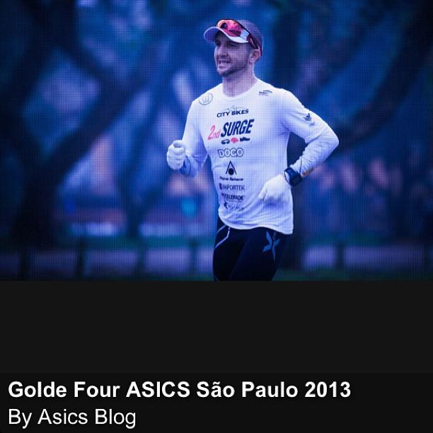 Flavio Jose em Ação na Golden Four ASICS SP