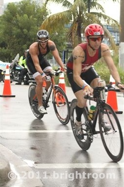 Flavio Jose no IRONAMN Miami 2011