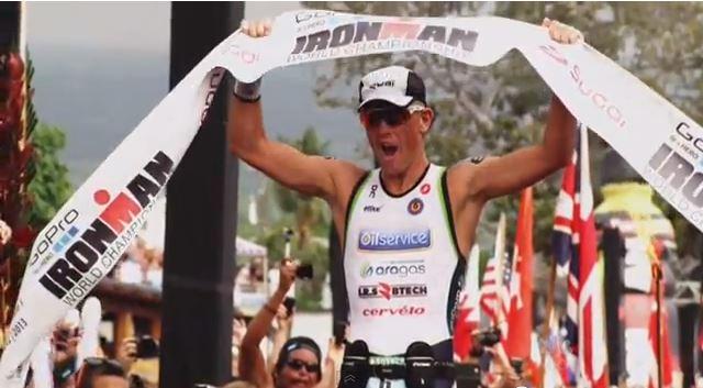 FrederikVan Lierde - Ironman Hawaii World Champion 2013