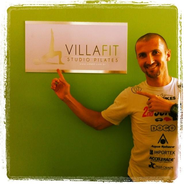 VillaFit Studio Pilates Apoio o Triatleta Flavio Jose