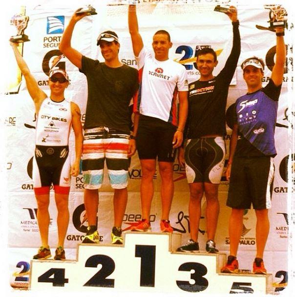 Flavio jose 4th place on TB 1st stage Santos 2014