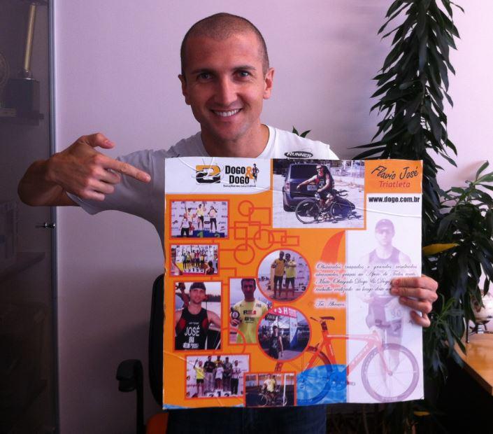 DODO & DOGO Renova com Triatleta Flavio Jose pelo 7 ano consecutivo!